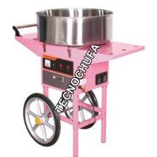 COTTON CANDY MACHINE TECNOCANDY 53 WITH CART