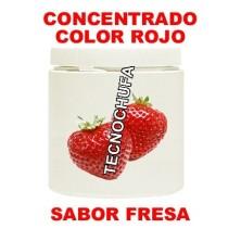 CONCENTRADO DE COLOR ROJO Y SABOR FRESA PARA ALGODON DULCE