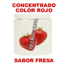 RED STRAWBERRY FLAVOR. CONCENTRATED FOR COTTON CANDY