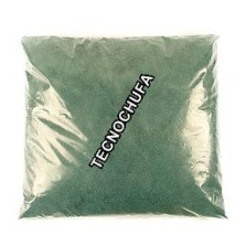 BAG OF 1 KG. SUGAR SEMICONCENTRATED GREEN