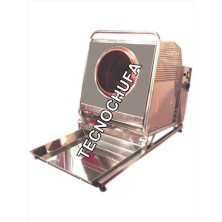 PRALINE ROASTER MACHINE TECNO100 INOX - 12 LITERS/HOUR
