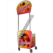 CHESTNUT ROASTER PROFESSIONAL CART WITH POSTER