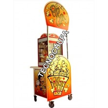 STREET POP CART FOR POPCORN MACHINE WITH CANOPY