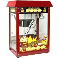 POPCORN MACHINE TECNOPOP 8 OZ-T RED