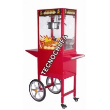 POPCORN MACHINE TECNOPOP 8 OZ WITH CART