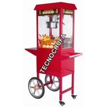 POPCORN MACHINE TECNOPOP 8 OZ-T WITH CART
