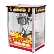 POPCORN MACHINE TECNOPOP 8 OZ-INOX