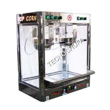 POPCORN MACHINE TECNOPOP 2 X 10 OZ - JOLLY DOPPIO INOX